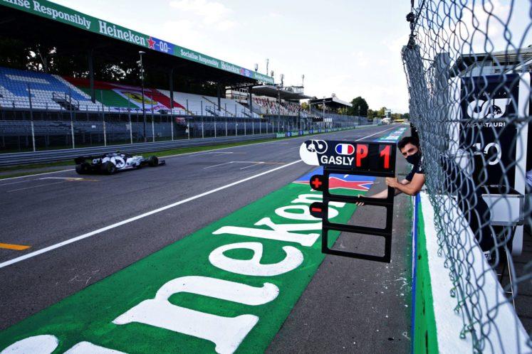 L'Analisi Prestazionale del Gran Premio di Monza 2020